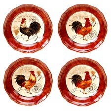 Tuscan Rooster Soup / Pasta BowlSet of 4)