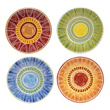 "Tapas 8.75"" Dessert Plate (Set of 4)"