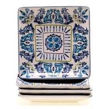 "Mood Indigo 6"" Canape Plate (Set of 4)"