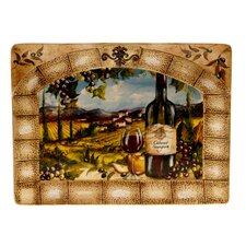 "Tuscan View 16"" Rectangular Platter"