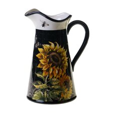 French Sunflowers 2.75 Qt. Pitcher