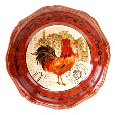 "Tuscan Rooster 12.75"" Pasta Serving Bowl"