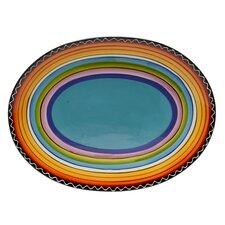 "Tequila Sunrise 16"" Oval Platter"