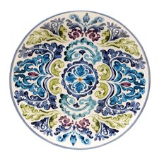 "Mood Indigo 14.5"" Round Platter"