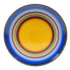 "Tequila Sunrise 14.5"" Round Platter"