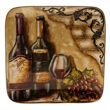 "Tuscan View 14.5"" Square Platter"