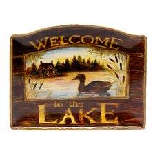 """Lakeside Lodge 16.25"""" Rectangular Platter"""