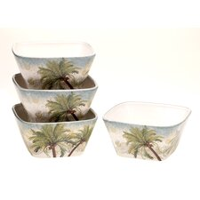 "Key West 5.25"" Ice Cream Bowl (Set of 4)"