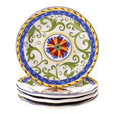 "Amalfi 8.75"" Dessert Plate (Set of 4)"