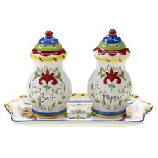 Amalfi 3 Piece Salt and Pepper Set