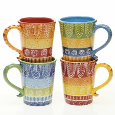 Tapas 18 oz. Mug (Set of 4)