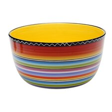 "Tequila Sunrise 10.75"" Deep Bowl"