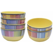 "Serape 5.75"" Ice Cream Bowl (Set of 6)"