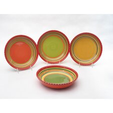 Hot Tamale Soup and Pasta Bowl (Set of 4)