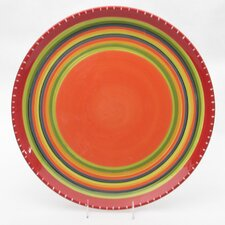 "<strong>Certified International</strong> Hot Tamale 18.5"" Round Platter"