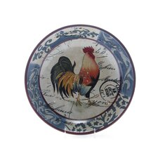 "Lille Rooster by Geoffrey Allen 15.88"" Pasta / Serving Bowl"