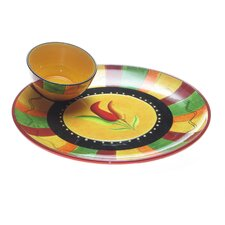 Caliente by Joy Hall Chip and Dip