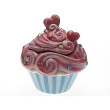 Cupcake 3-D Cookie Jar by LoriLynn Simms