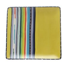 "<strong>Certified International</strong> Santa Fe by Nancy Green 12.5"" Square Platter"