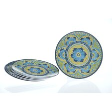 "<strong>Certified International</strong> Mexican Tile 9"" Salad Plate (Set of 6)"