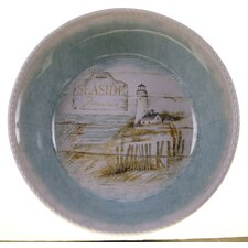"Beach Cottage 13"" Pasta/Serving Bowl"