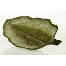 "<strong>Certified International</strong> Las Palmas 21"" 3-D Palm Leaf Platter"