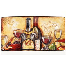 "Wine and Cheese Party 18"" Rectangular Platter"