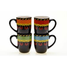 <strong>Certified International</strong> Mi Casa 18 oz. Mug (Set of 4)