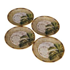 "<strong>Certified International</strong> Las Palmas 8.5"" Dessert Plate (Set of 4)"