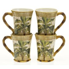 <strong>Certified International</strong> Las Palmas 16 oz. Mug (Set of 4)
