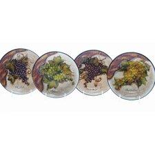 Wine Cellar by Tre Studios Pasta/Soup BowlSet of 4)