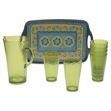 Mexican Tile 8-Piece Serving Set