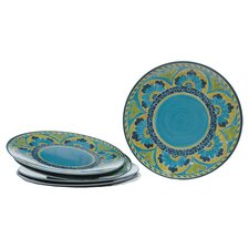 "<strong>Certified International</strong> Mexican Tile 12"" Dinner Plate (Set of 6)"