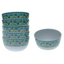 Mexican Tile Ice Cream Bowl (Set of 6)