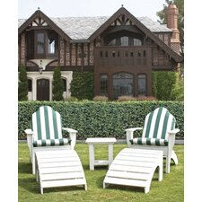 <strong>Eagle One</strong> Chesapeake Adirondack Chair and Foot Stool