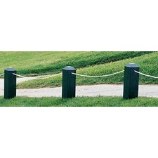 "Chamfered Top 4"" x 4"" Rope Stakes"