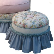 <strong>Angel Song</strong> Blossoms and Bows Princess Ottoman