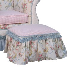 Blossoms and Bows Toybox Ottoman