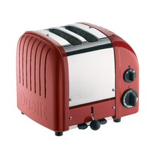 Two Slot Toaster in Red