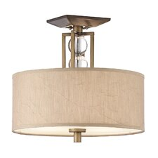 Celestial 3 Light Semi Flush Mount