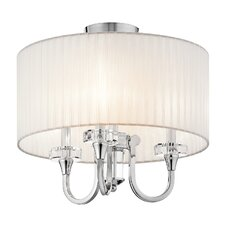 Parker Point Convertible 3 Light Semi Flush Mount