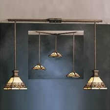 <strong>Kichler</strong> Mini Multi-Pendant Hanger in Art Nouveau Bronze