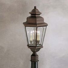 Savannah Estates 3 Light Outdoor Post Lantern