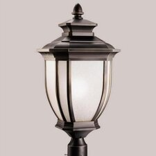 "<strong>Kichler</strong> Salisbury 1 Light 12"" Outdoor Post Lantern"