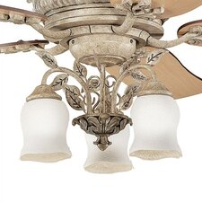 Heather Three Light Branched Ceiling Fan Light Kit
