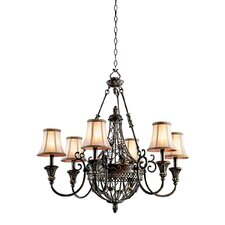 <strong>Kichler</strong> Marchesa 6 Light Chandelier