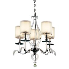 Jardine 5 Light Chandelier