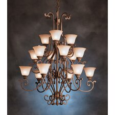 <strong>Kichler</strong> Larissa Indoor 15 Light Chandelier