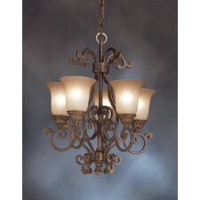 <strong>Kichler</strong> Larissa 5 Light Indoor Chandelette