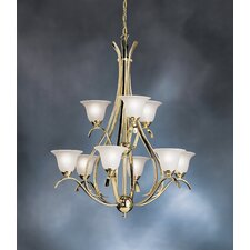<strong>Kichler</strong> Dover 9 Light Chandelier